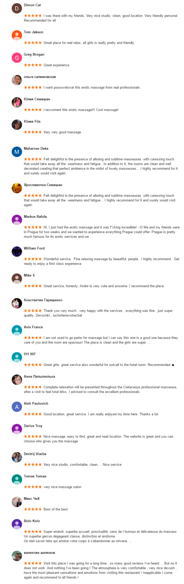 Reviews https://www.eroticpraguemassage.com/