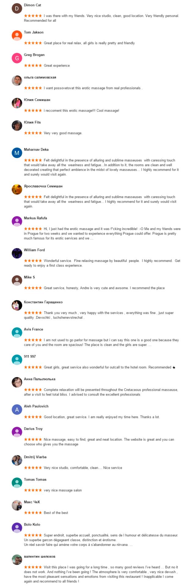 Reviews http://www.eroticpraguemassage.com/